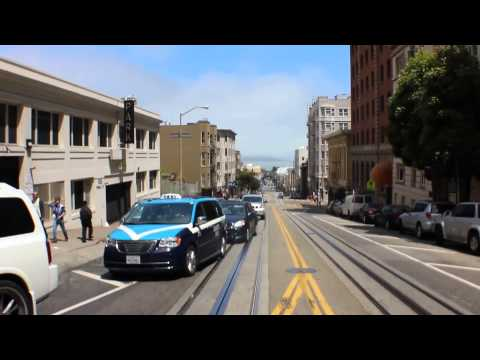 San Francisco Cable Car - Fisherman's Wharf to Powell St. & Market