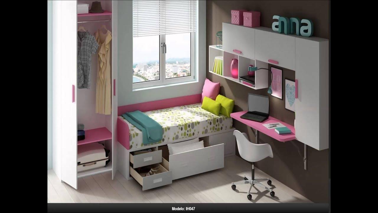 habitaciones juveniles con camas compactas youtube
