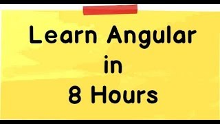 learn angular 2 for beginners step by step