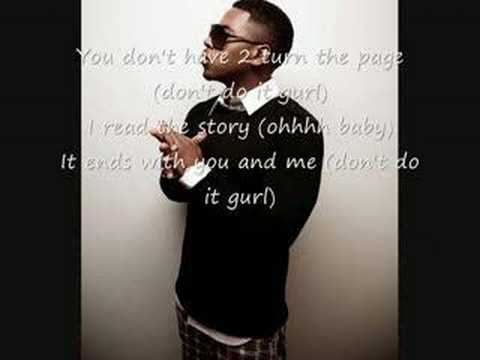 Bobby Valentino  Don´t turn the page WITH LYRICS!!