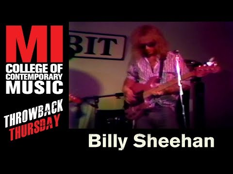 Billy Sheehan Throwback Thursday From the MI Library