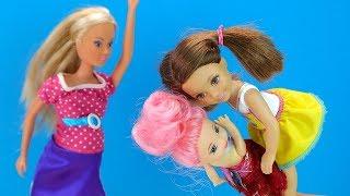 ДЕВОЧКИ СЦЕПИЛИСЬ ИЗ- ЗА КОТИКА? Мультик #Барби Куклы Для девочек Домашние Питомцы Котята IkuklaTV