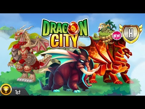 Dragon City - Jungle Island + Fighting PvP [First Looks]