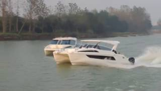 Aquila 36 Power Catamaran:  Verstility and Performance