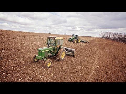 Generational Farming - Seeding New Crop Hay