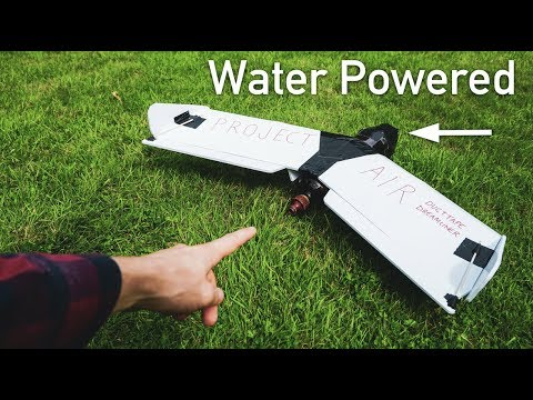 How To Make A Water Powered Airplane