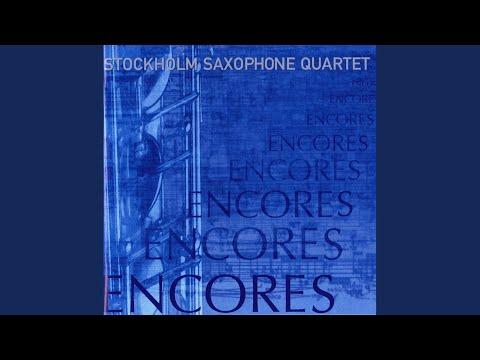 5 Dances: No. 2 In A Major (Version For Saxophone Quartet)