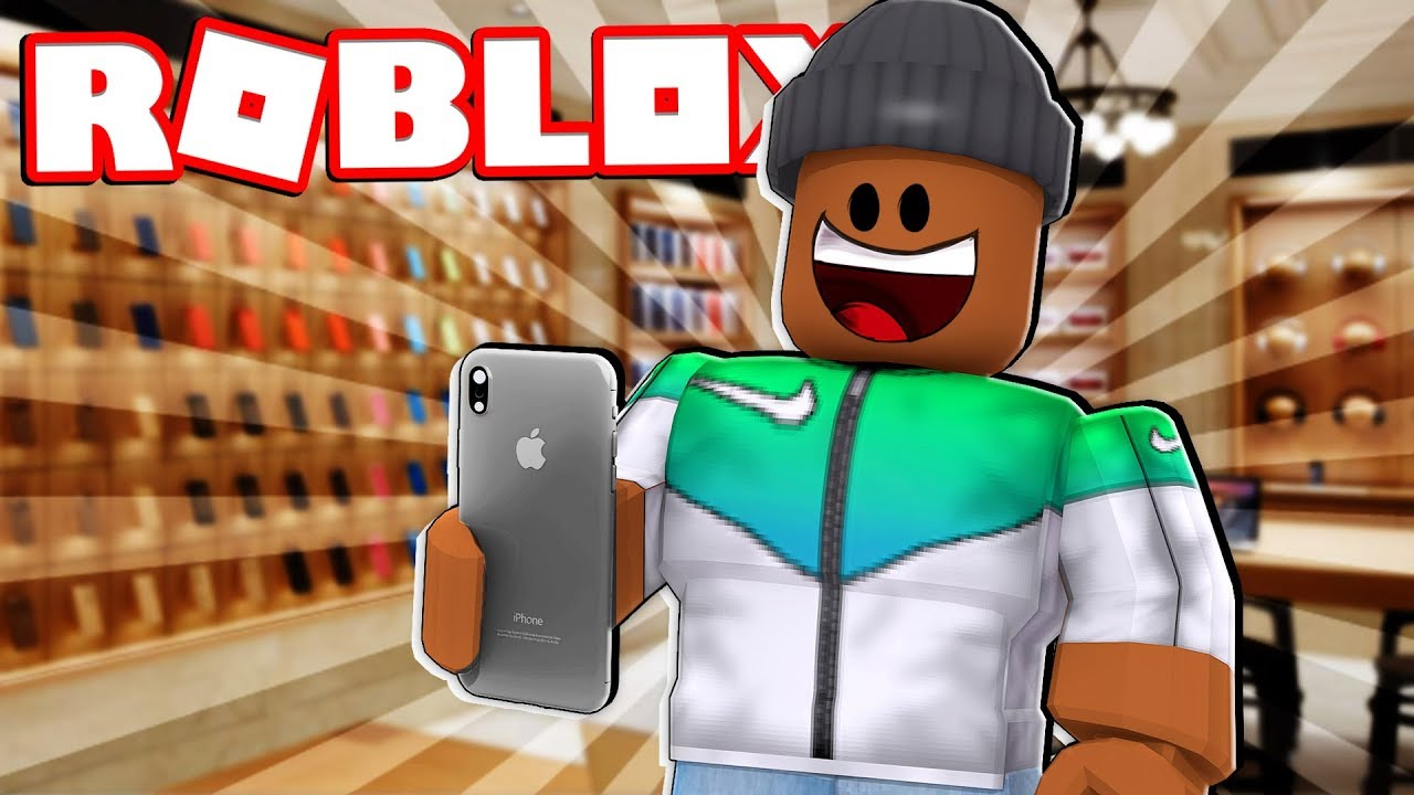 Making The New Iphone Roblox Apple Store Tycoon Youtube