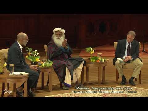 Sadhguru at Harvard Medical School - Memory, Consciousness, and Coma