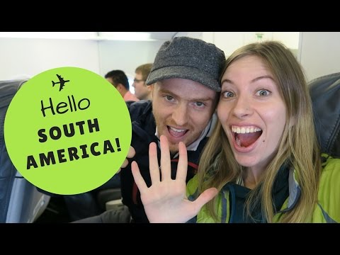 We're going to South America!!!
