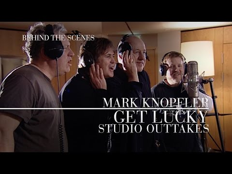 Mark Knopfler - Get Lucky Behind The Scenes, Studio Outtakes (OFFICIAL)