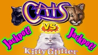 ⭐ BIG JACKPOT HANDPAY ⭐ 😻 CATS VS KITTY 🙀 HIGH LIMIT SLOT MACHINE