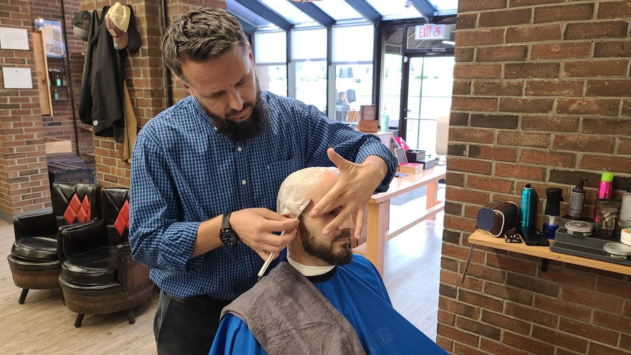 HOW TO DO HOT TOWEL SHAVE