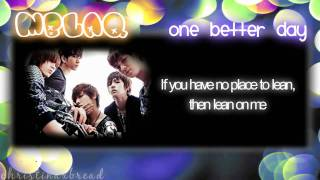 HD [ENG.LYRICS] MBLAQ - One Better Day Mp3