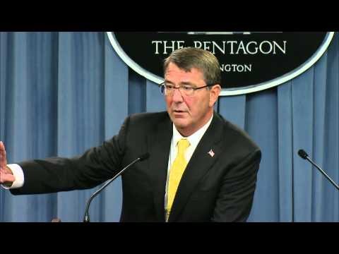 Secretary of Defense Ash Carter Press Briefing