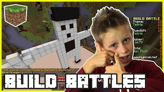 Build Battles - WORST RACOON WINS | Minecraft Mini Games