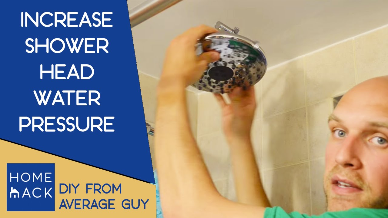 Increase Water Pressure In Shower | Improve Water Pressure In Bathtub    YouTube