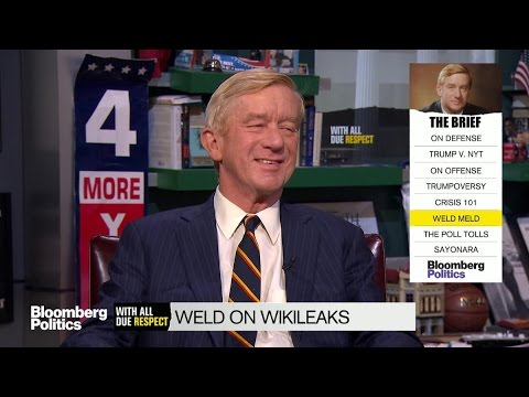 Bill Weld on Donald Trump: He's Obviously Lying