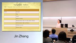 2014 Undergraduate Student Symposium | Jin Zhang | SFU Faculty of Environment