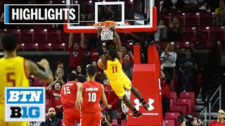 Highlights: Jalen Smith Leads Terps to Win | Fairfield at Maryland | Nov. 19, 2019