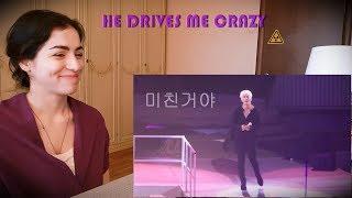 Reaction to - 박효신 (park hyo shin) li-la (리라) 161008