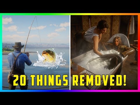 20 Things REMOVED From Red Dead Redemption 2! (RDR2)