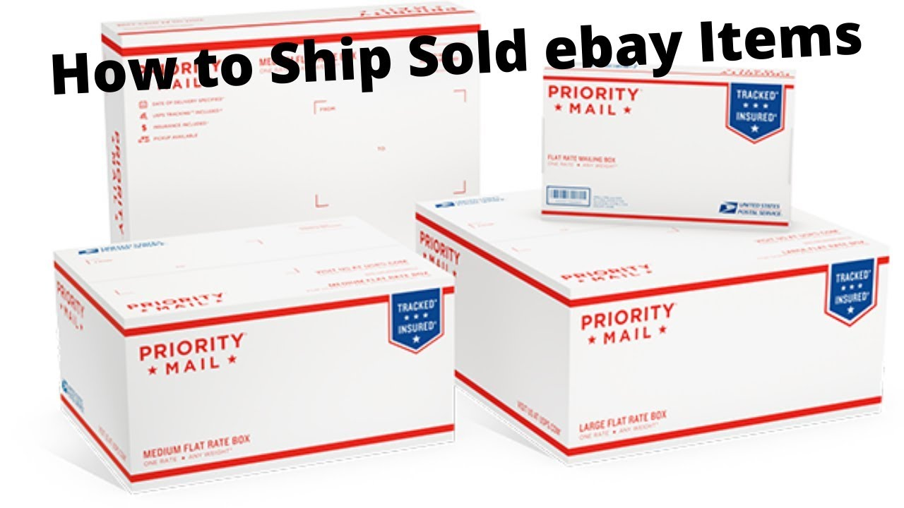 How To Ship Sold Items On Ebay Sales Update Shipping Video Making Money Online Youtube