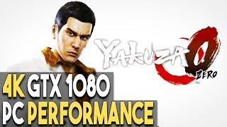 Yakuza 0 PC ULTRA Settings 4K Gameplay Performance (GTX 1080)