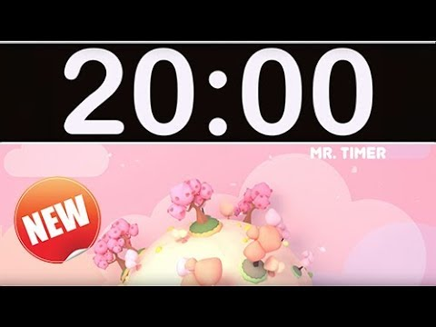 20 Minute Timer With Music For Kids, Children, Classroom!