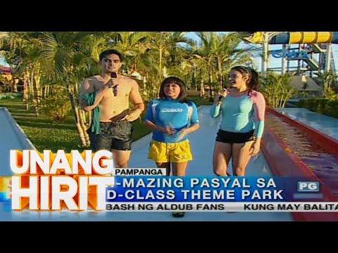 Unang Hirit: Water-mazing Pasyal sa World-Class Theme Park