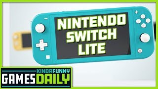 Nintendo Switch Lite Revealed - Kinda Funny Games Daily 07.10.19