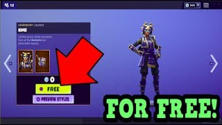 HOW TO GET HIME SKIN FOR FREE! (Fortnite Old Skins)