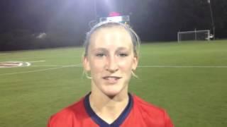 Gretchen Harknett - UM vs. Arkansas