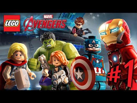 Lego Marvel Avengers - Parte 1: Avante, Vingadores! [ Playstation 4 - Playthrough PT-BR ]