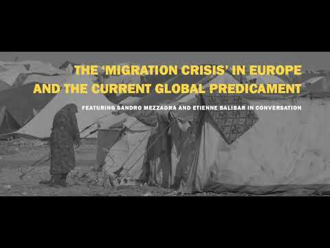 The 'Migration Crisis' in Europe and the Current Global Predicament