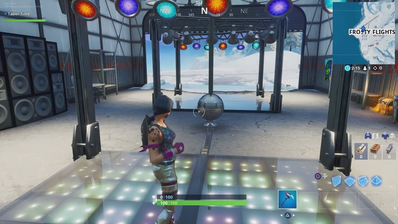 Dance With Others To Raise The Disco Ball In An Icy Airplane Hangar Boogie Down Mission Challenges Youtube