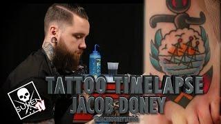 Tattoo Time Lapse - Jacob Doney