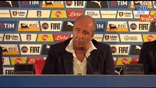 Inizia a Bari il ciclo di Giampiero Ventura alla guida della Nazionale di calcio