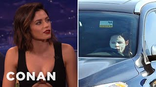 Jenna Dewan Tatum's Terrifying Paparazzi Pic  - CONAN on TBS
