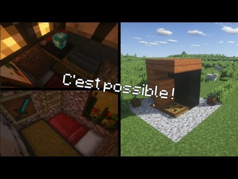 Comment Faire Une Maison 2x2 Minecraft