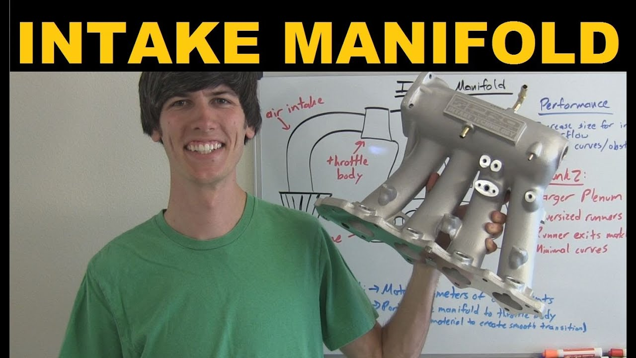 Intake Manifold Explained Youtube 93 Honda The Vacuum And Pressure Air Hosescontrol Valvepurge
