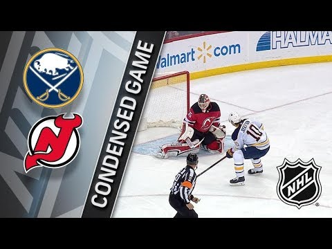 Buffalo Sabres vs New Jersey Devils – Dec. 29, 2017 | Game Highlights | NHL 2017/18. Обзор матча