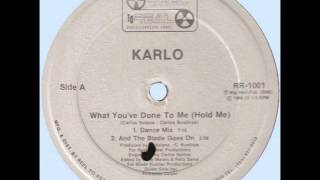 KARLO - WHAT YOU