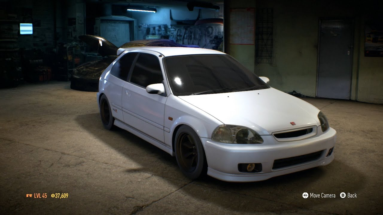 need for speed 2015 car customization 7 honda civic. Black Bedroom Furniture Sets. Home Design Ideas