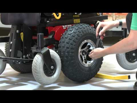 Frontier V6 All Terrain Wheel Change - Magic Mobility Power Chairs