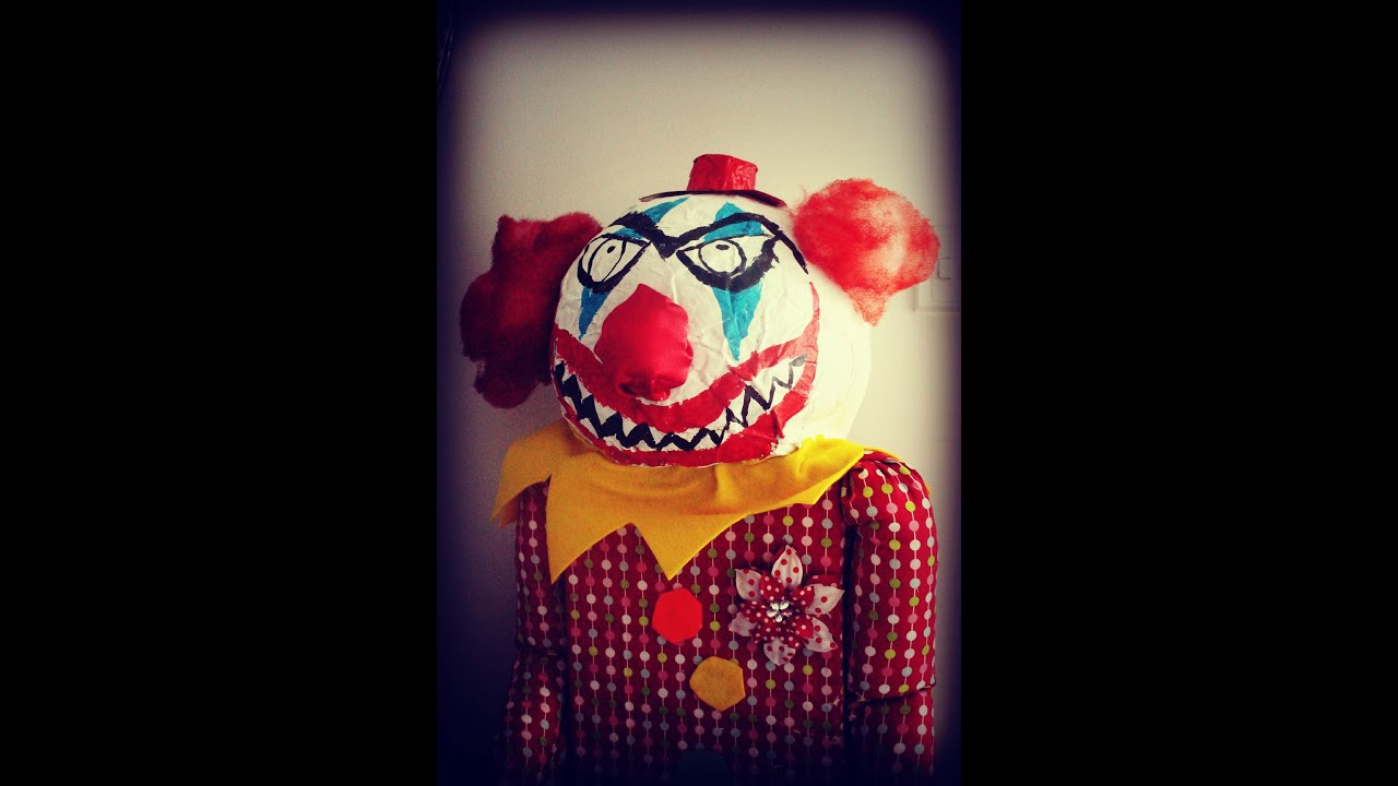 Download How to make a Halloween Evil Clown