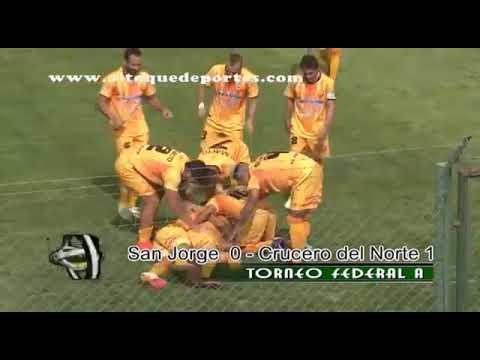Gol de Leonardo Marinucci a San Jorge de Tucumán