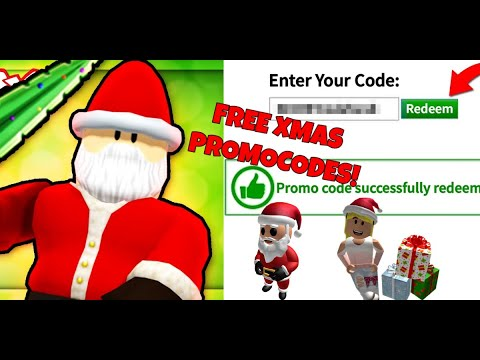Roblox Christmas Promo Codes 2020 NEW** Christmas ROBLOX PROMO CODES 2019! | All DECEMBER 2019 ROBUX