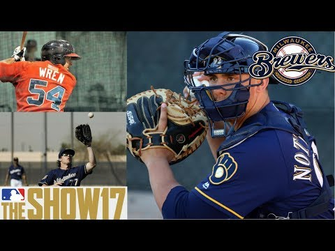 MLB The Show 17 Franchise - Milwaukee Brewers - Addressing Needs in the Offseason