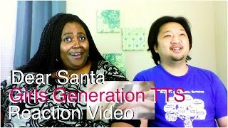 Girls' Generation TTS- Dear Santa (Eng. Ver) K-Pop Reaction